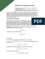 Convergencia de Las Series de Fourier
