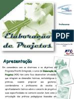 Elaboração de Projetos - Proinfo Integrado