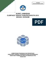 OSK 2018 Ekonomi (Kunci)
