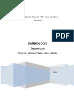 Afectiuni Cardiace - Suport de Curs - Dr.vasile