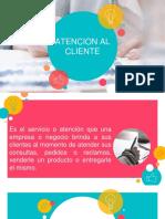 Presentacion Atencion al Cliente