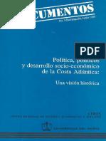 Politica Politicos y Desarrollo Socio Economico de La Costa Atlantica