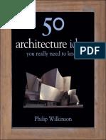 50 Architecture Ideas [Philip Wilkinson].epub