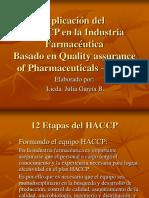 Aplicación Del HACCP