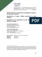 Aplicaciones Geom Doblado Papel Seccs Conicas
