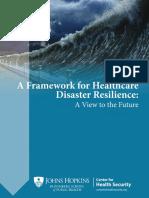 180222 Framework Healthcare Disaster Resilience