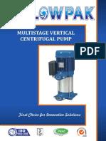 Multistage Vertical Centrifugal Pump(Leaflet)
