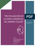 Análisis de Sitio Revitalización Barrio Colón