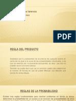 REGLA DEL PRODUCTO Estadistica 2 Exposicion