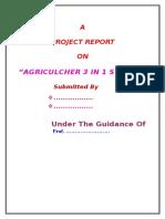Agriculcher 3 in 1 System Black Book