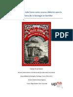 La literatura de Julio Verne como recurso didáctico para la enseñanza de la Geología en Bachiller