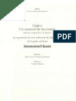 Logica - Kant