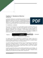 """Apuntes de Electrotecnia Cap2 """"Resistencia Electrica"""""""