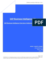 SAP Business Intelligence Whitepaper