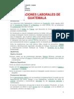 Prestaciones Laborales de Guatemala