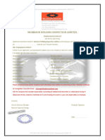 Welding Inspector Contract Document