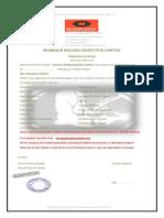 Welding Inspector Contract Document