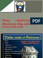 Diapositivas Del Delito de Hurto