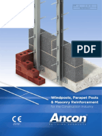 Masonry Reinforcement and Windposts March 2015 V3