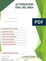 Caracterizacion General Del Area
