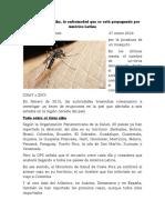 Articulo Cientifico Del Zika