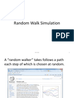 Random Walk Simulation