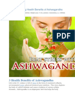 3 Life Changing Health Benefits of Ashwagandha