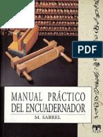 Sabrel, M. Manual prático del encuadernador