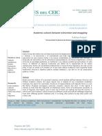 Araujo - 2015 - Culturas académicas (entre reinvención y contrabando).pdf