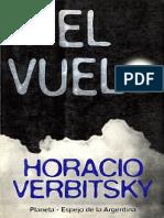 Horacio Verbitsky, El vuelo