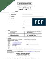 Registration Form (Session 1)