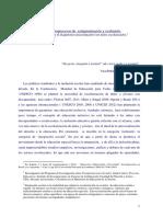 Los microprocesos de estigmatización y exclusión. Reflexión sobre el diagnóstico psicoeducativo en niños escolarizados - Marta Sipes