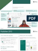 Guia de Inicio Rapido Do Publisher2013