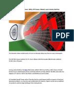 Sensex Ends 300 Pts Down