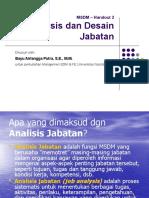 [006] Handout 2 Analisis Dan Desain Jabatan