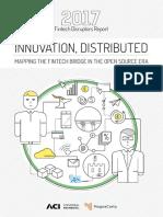 2017 FinTech Disruptors Report