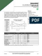 Sga4486z Data Sheet
