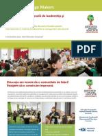 Conferinta Internationala Leadership - Education Change Makers - RO