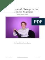 The Cause of Change in the Wellness Segment - Aldina Duarte Ramos -
