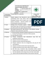 8.1.4 Ep 2 Sop Pelaporan Hasil Pemeriksaan Laboratorium Yang Kritis