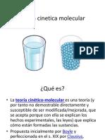 Teoría Cinetica Molecular