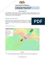 MH370 Operational Search Update #6 Period 26th Feb 2018 - 4 March 2018