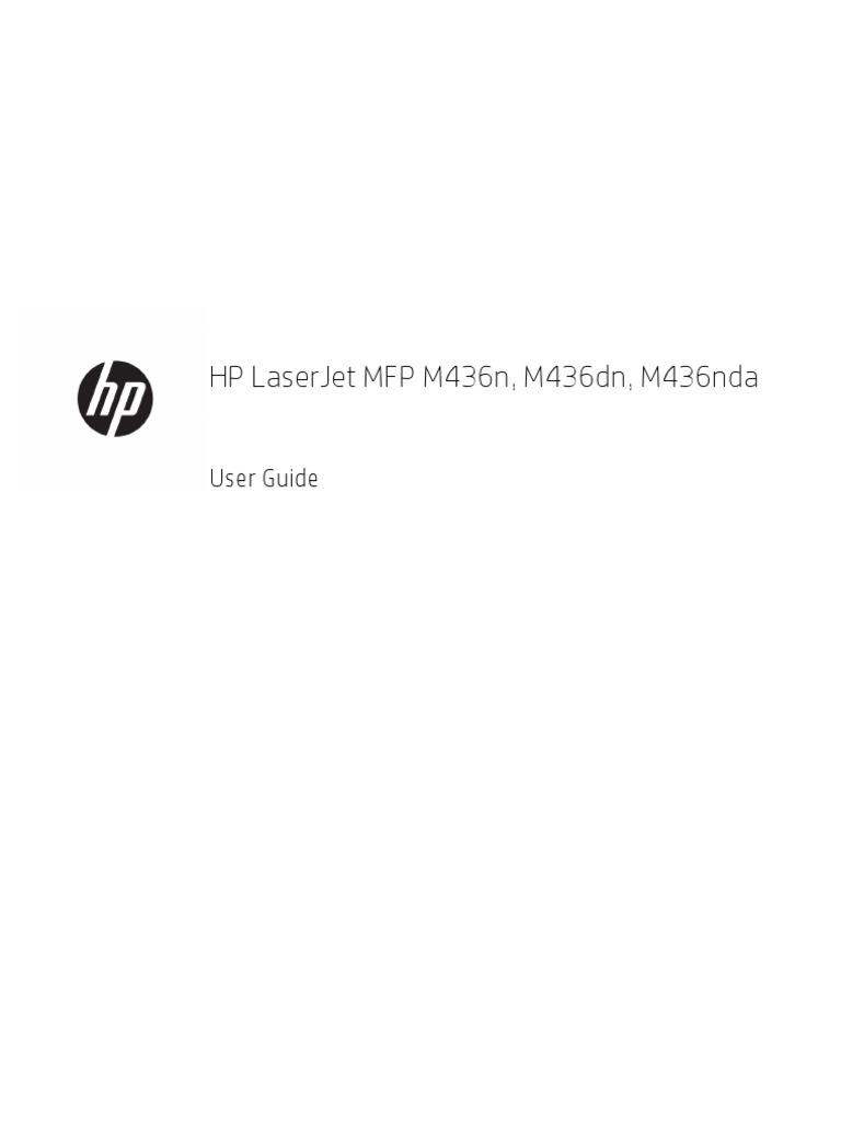 HP Laserjet M 436 | Image Scanner | Printer (Computing)
