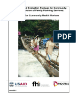 Monitoring and Evaluation Package_CHW