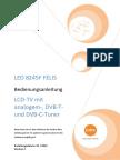 Usermanual LED8245F FELIS 2 122012