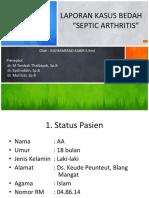 PP Lapkas Septik Arthritis