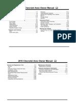 2010 Chevrolet Aveo Manual en CA