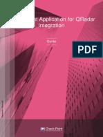 CP SmartView QRadar IntegrationGuide