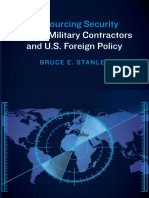 Outsourcing Security Private Military Contractors and U S Foreign Policy
