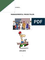 Manual Management Proiecte